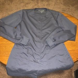 Grey's Anatomy by Barco grey scrub jacket